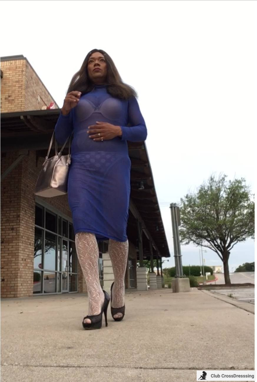 Shopping and loving my heels.