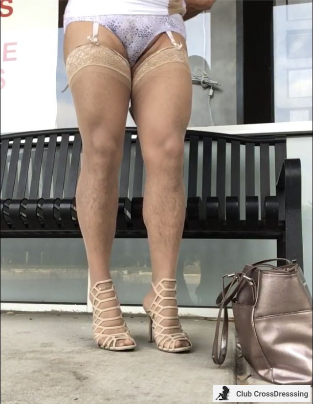 Do you like my nude cage heels. I like them so much I have 2 pairs.