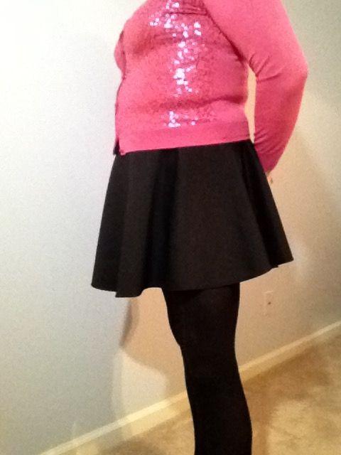 Love this skater skirt