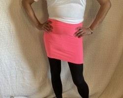 Pink Skirt - June 2020