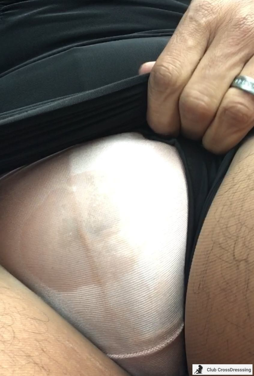 Got back in the car to show my mishap. I was really wet. Hope you enjoyed.