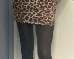Leopard Print Dress - July 2020