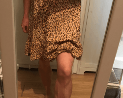 Summer summer dress and tights