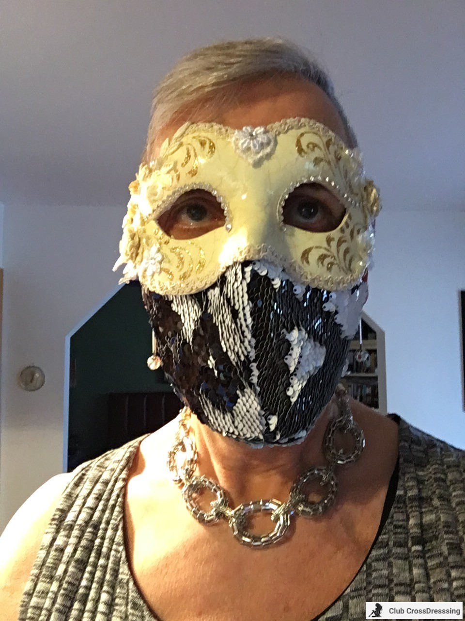 I am wearing my French Maid Mask when needed and I just love my Italian mask!!!