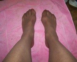 my feet and legs