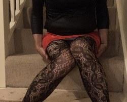 Red Pvc skirt - October 20