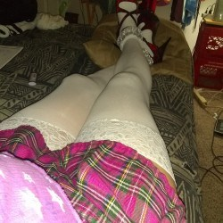 SexyLegsInThighHighs, CrossDresser 50  Lakeport California